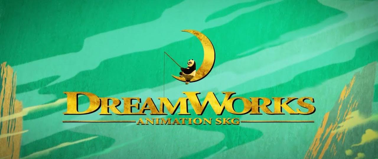 logo dreamworks in kong fu panda