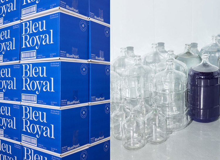 scatole blu royal