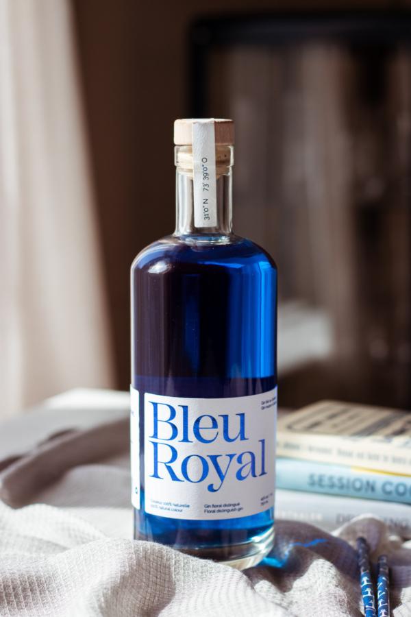 Bottiglia blu royal